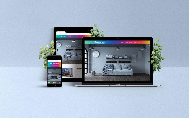 Paintmyhouse-Website